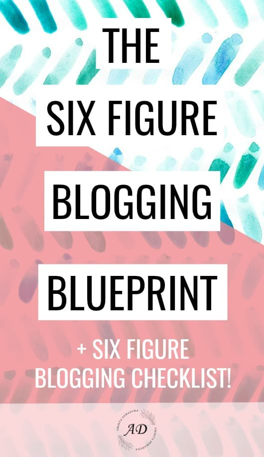 Six Figure Blogging Blueprint