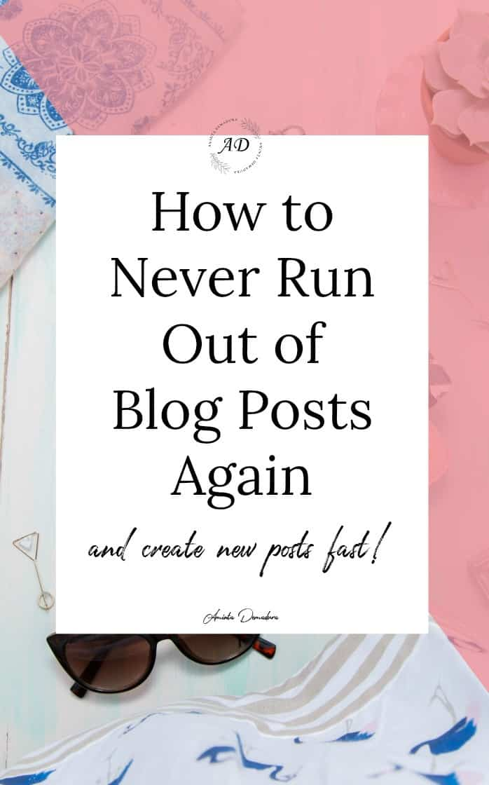 How to Create Blog Posts Crazy Fast