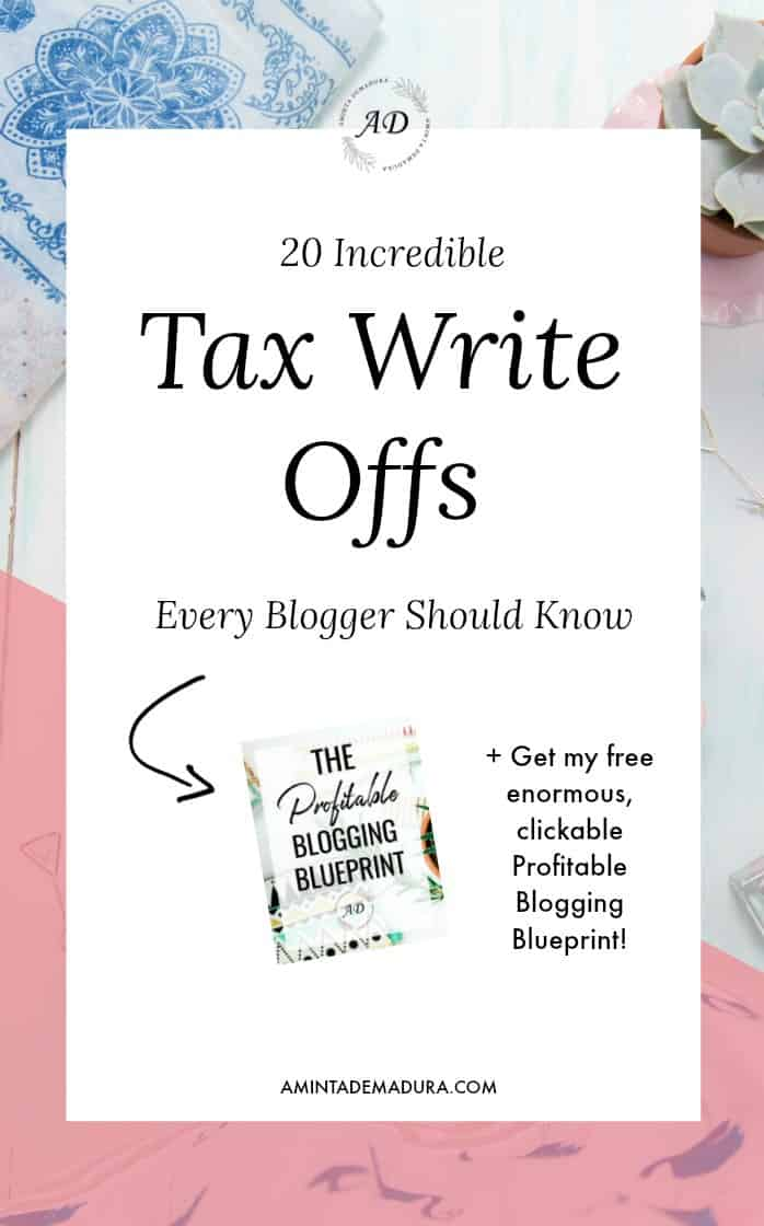 Tax Write Offs for Bloggers
