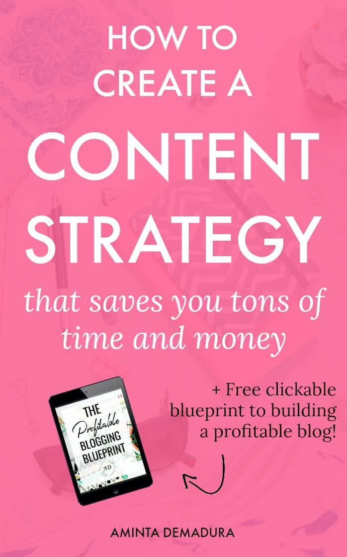 Content strategy save time