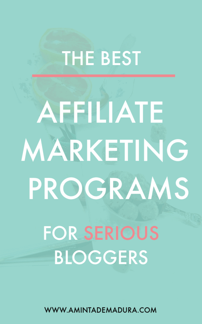 affiliate marketing programs for bloggers