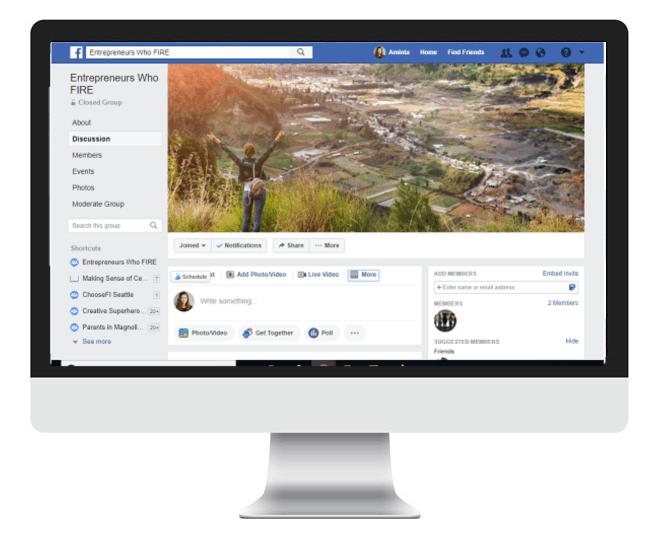 entrepreneurs facebook group