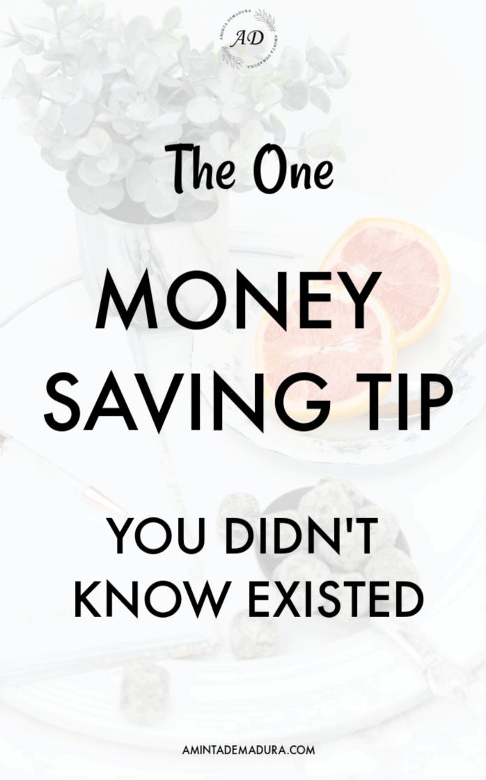 Money Saving Tip