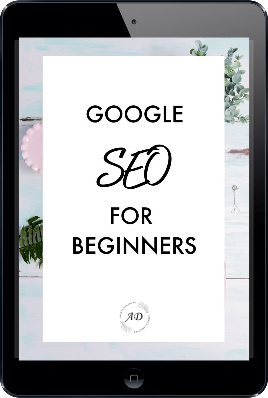 GOOGLE SEO FOR BEGINNERS GUIDE