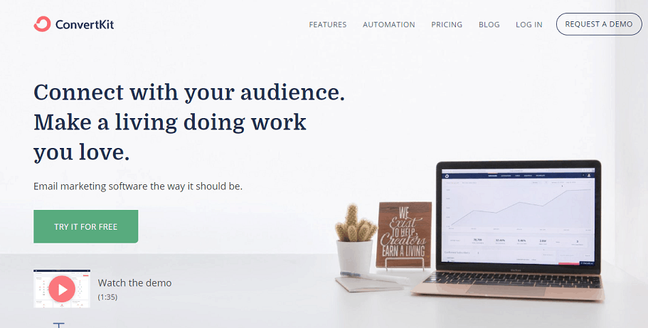 convertkit email bloggers