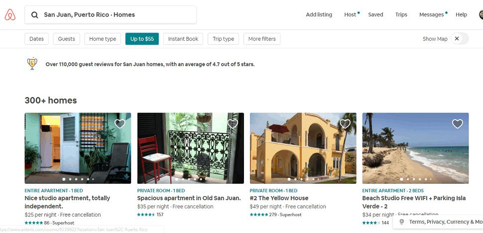travel cheap airbnb