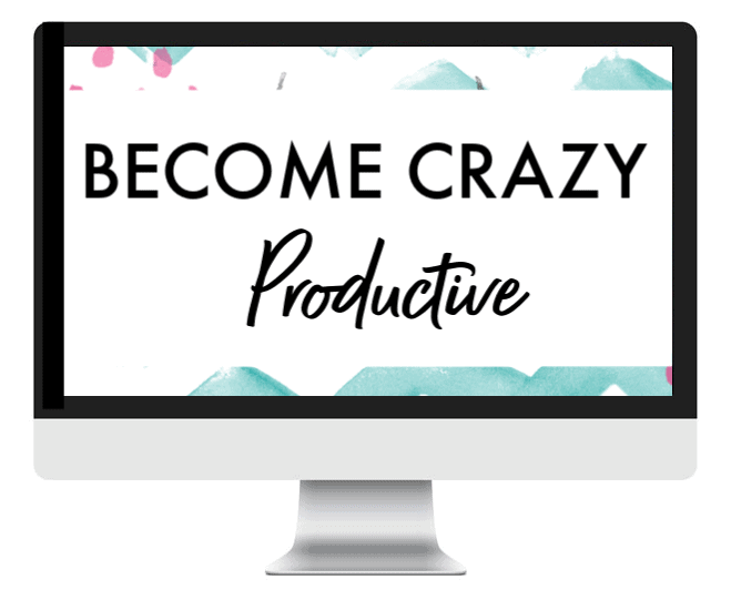 become crazy productive