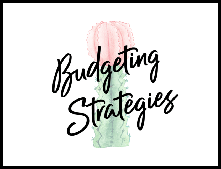 budgeting strategies