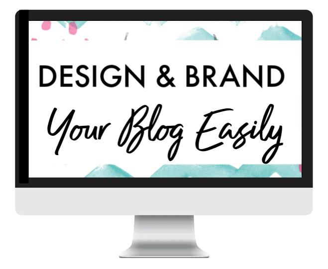 design brand your blog