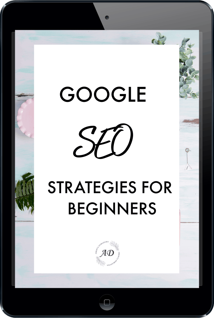 google seo strategies for bloggers