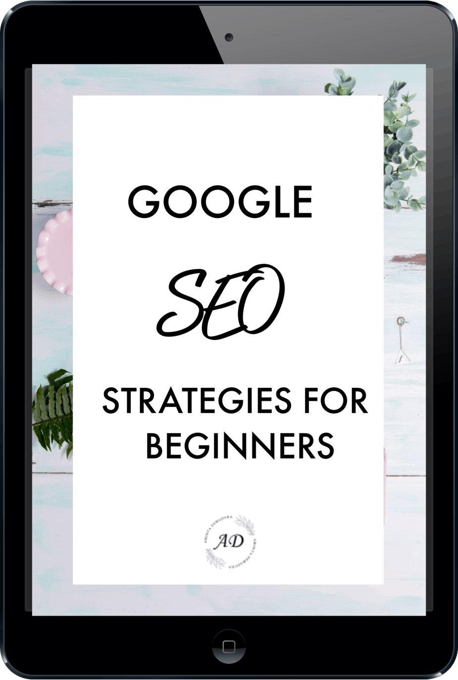 google seo strategies for bloggers