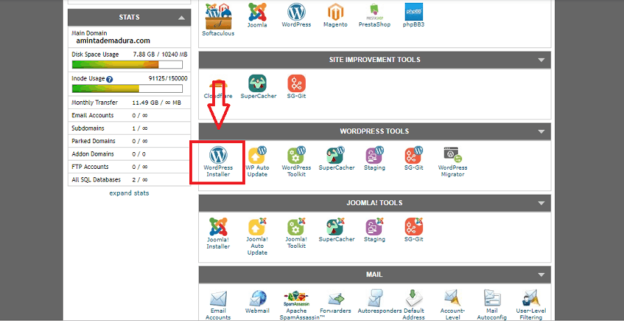 how to install wordpress on siteground blog
