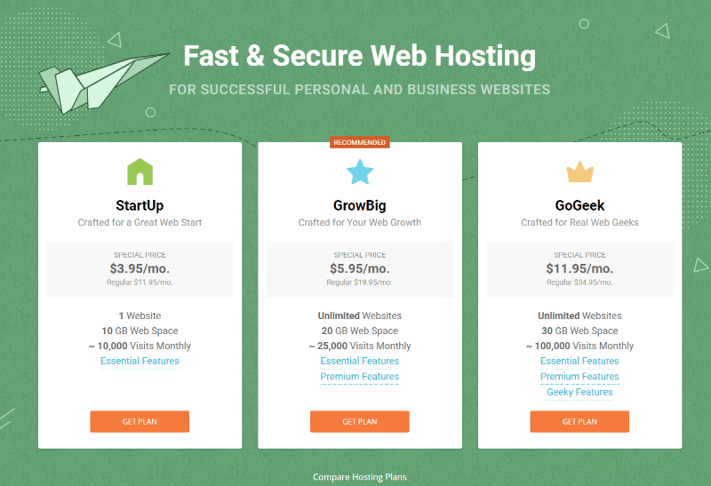 siteground blog hosting