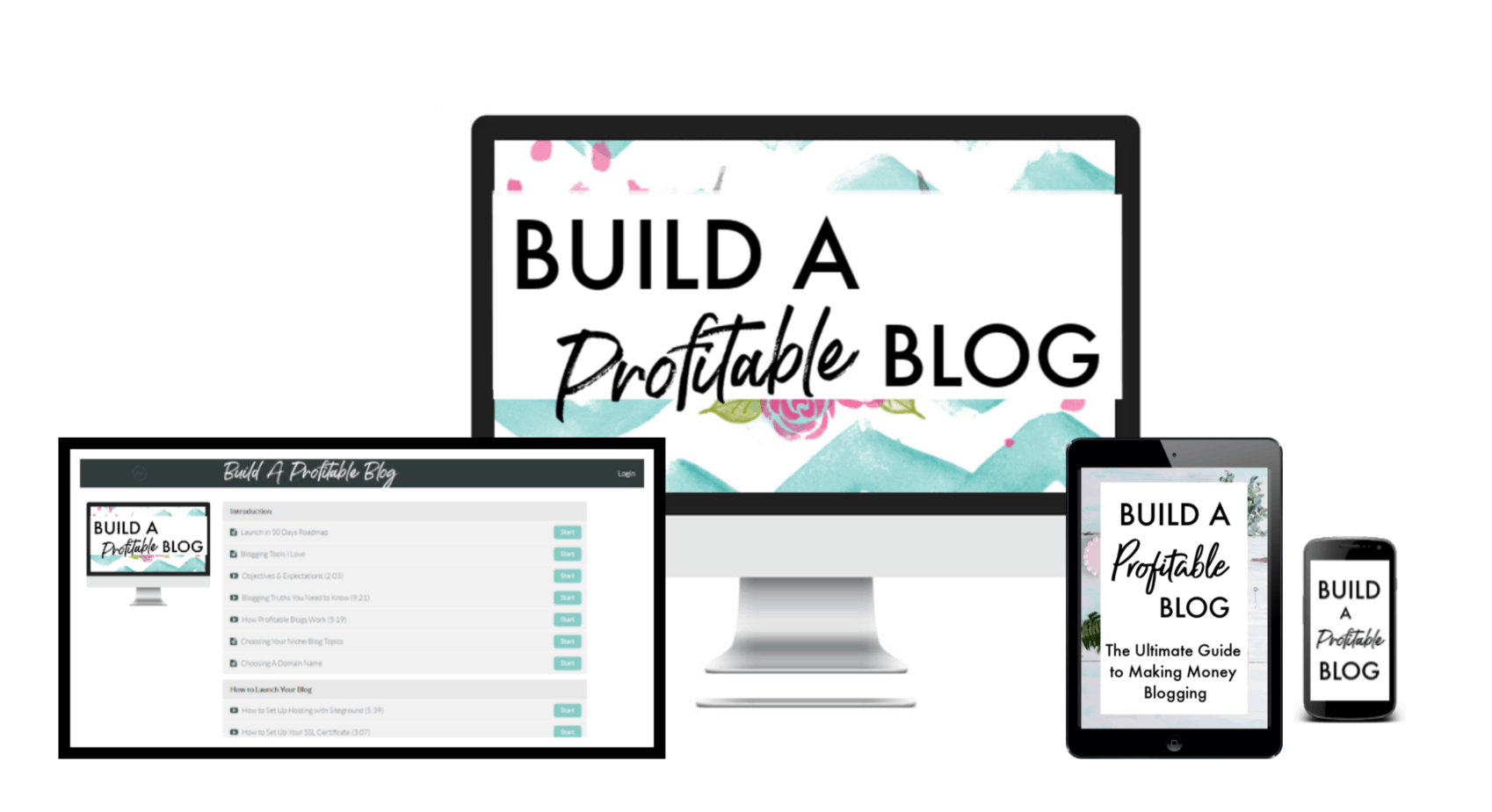 build a profitable blog