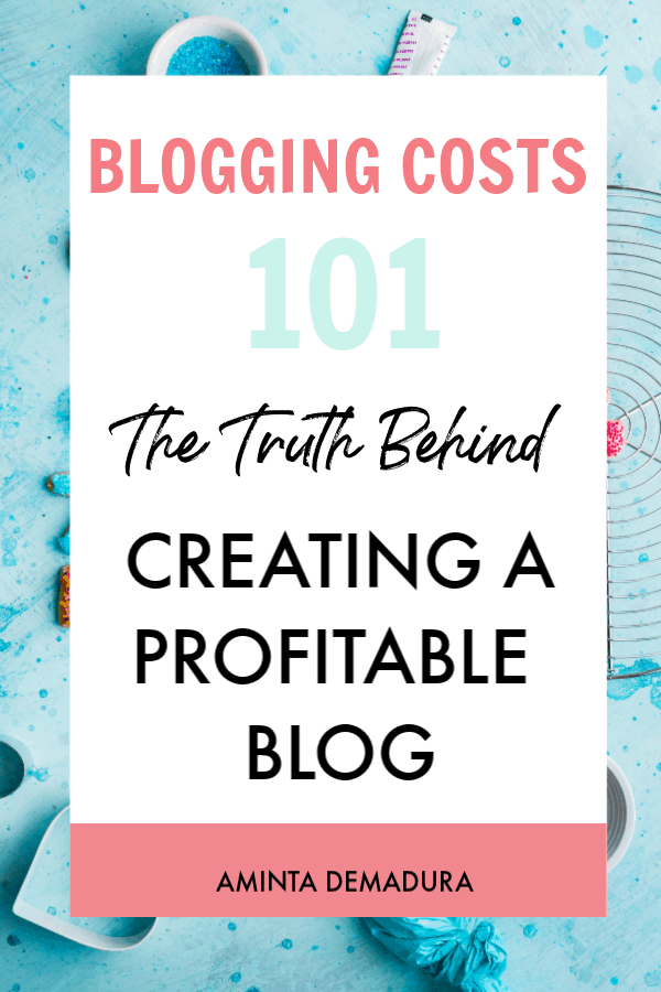 blogging costs