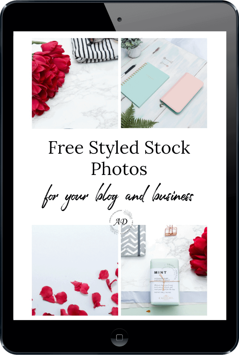 free styled stock photos bloggers