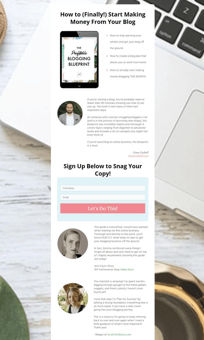 how to start a blog blueprint testimonials-min (1)