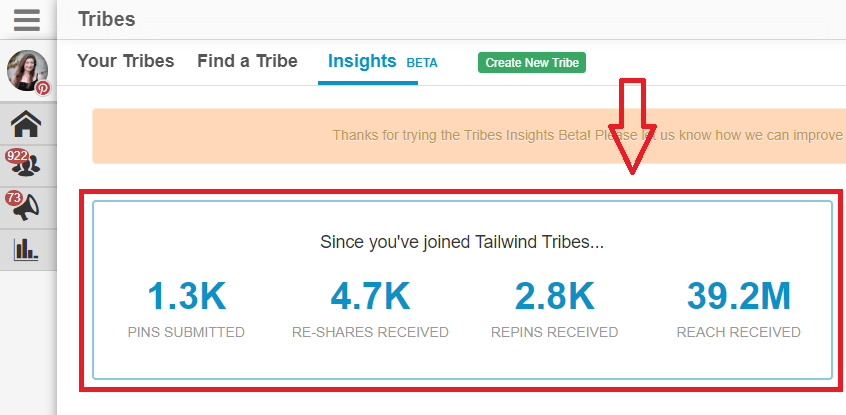 tailwind tribes blog traffic-min