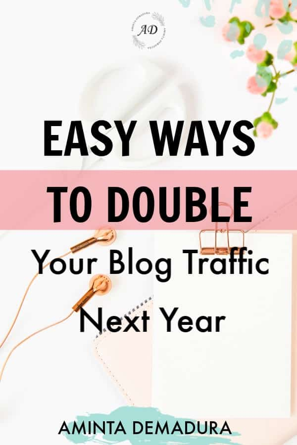 easy ways to double blog traffic