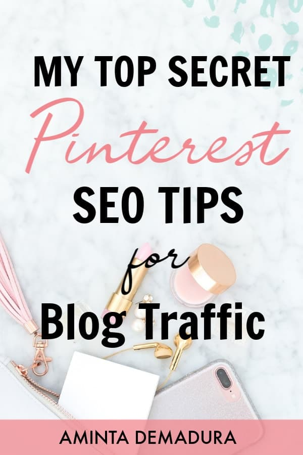 pinterest seo tips for bloggers