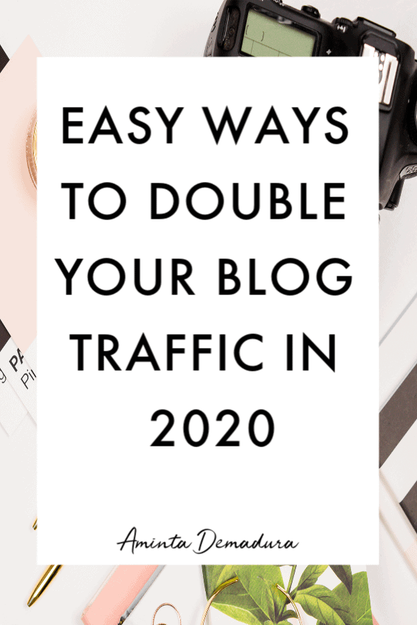 double blog traffic fast