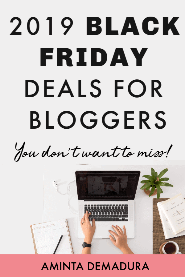 black friday deals for bloggers 2019