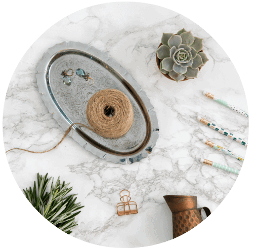 flat lay photos for bloggers
