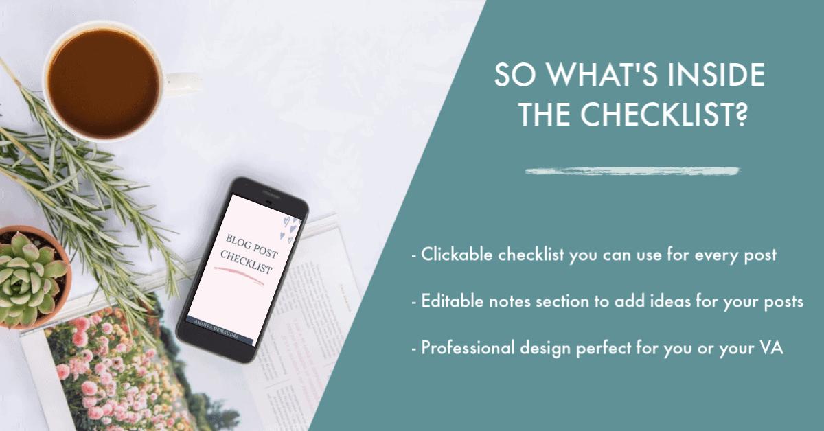 pre publishing blog checklist-min