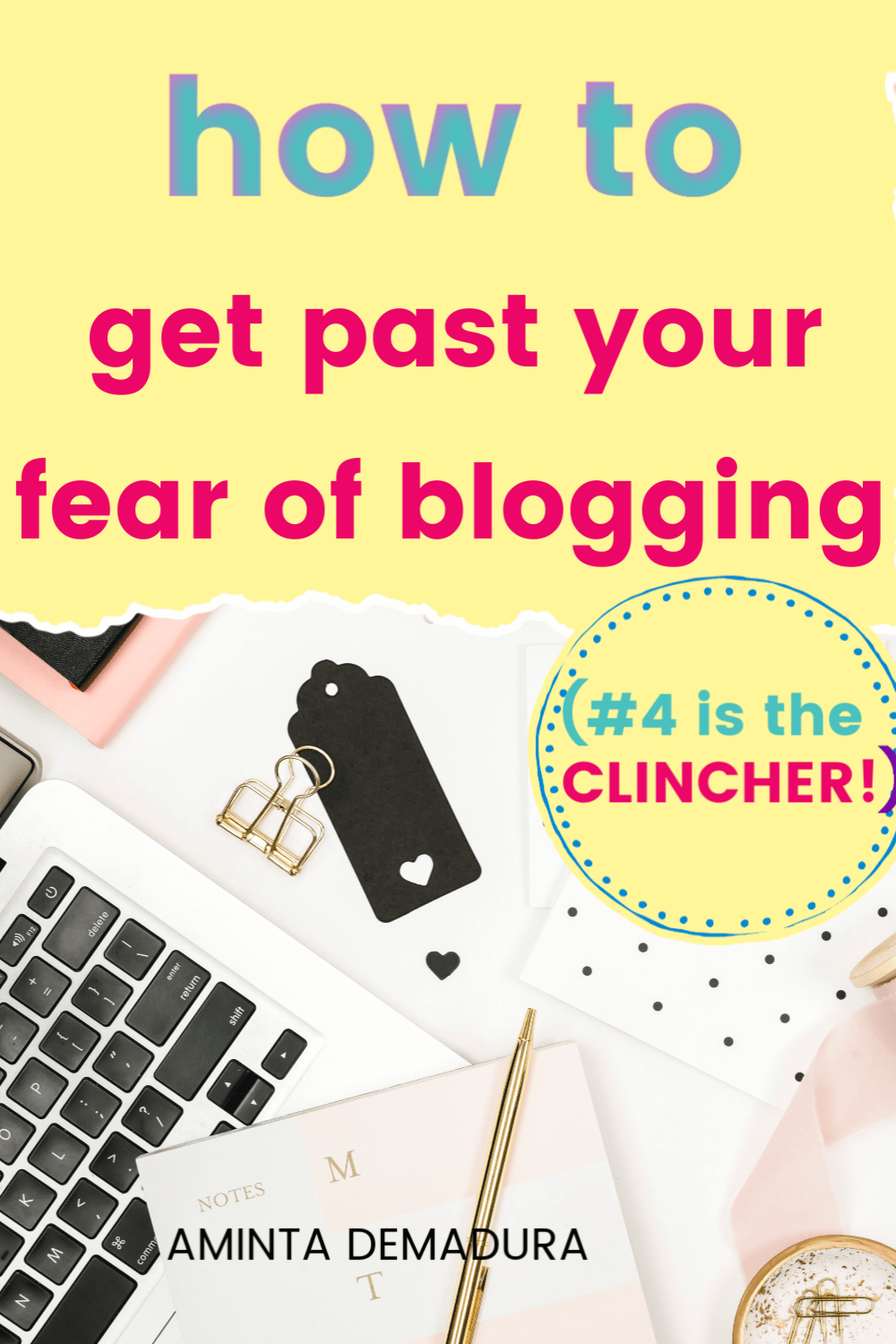 blogging fear overwhelm