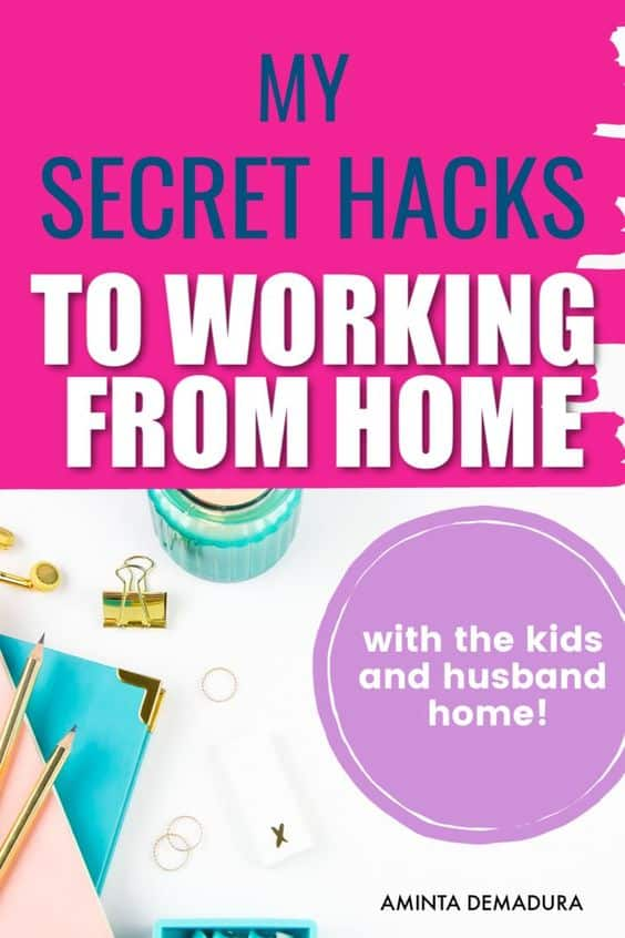 How I make time to blog as a stay at home mom