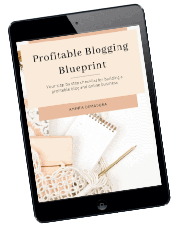 free blogging blueprint