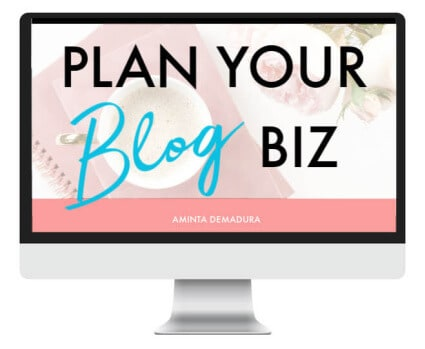 blog planning template