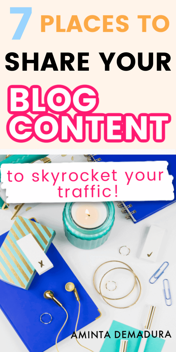 where to share your blog content for traffic (1)